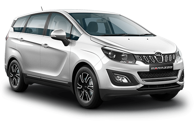 Mahindra Marazzo White Color - Mahindra Marazzo Iceberg White Color Option