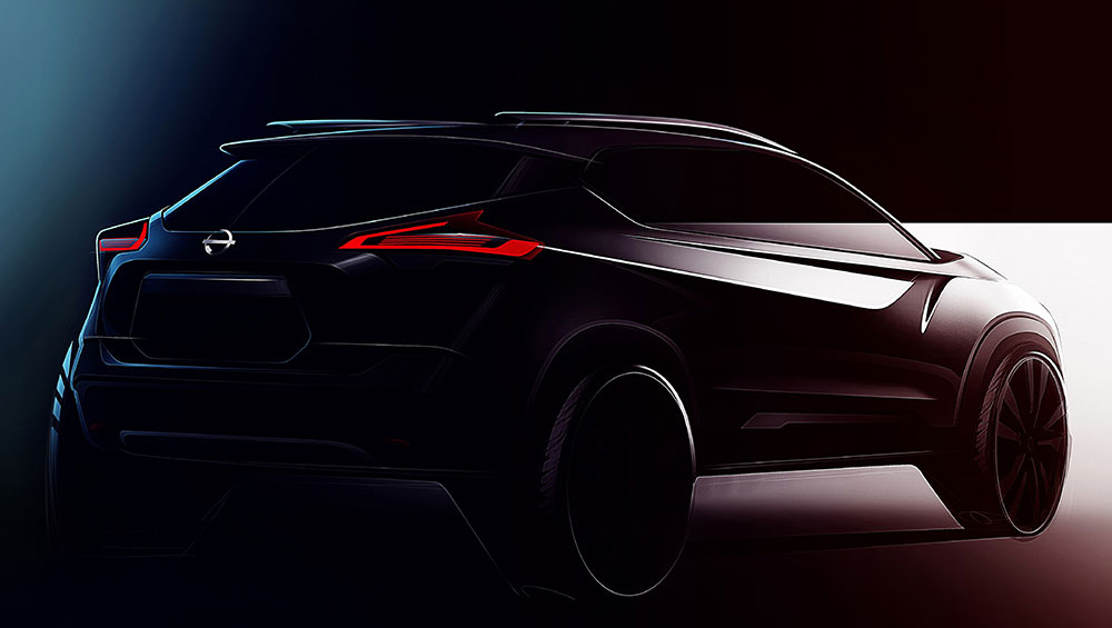Nissan KICKS Teaser Images are out. Nissan Kicks Images, Nissan Kicks Photos