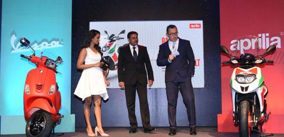 Aprilia & Vespa India launches 5 New Products
