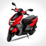 TVS NTORQ 125 Sales cross 1 Lakh Units; Metallic Red Color Added