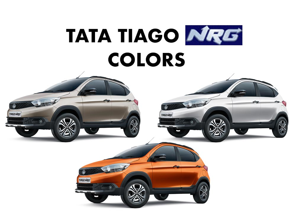Tata Tiago NRG Colors - Tata Tiago NRG All Colors - Tiago NRG All Color variants