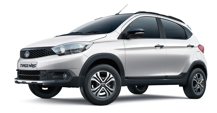 Tata Tiago NRG White Color Option; Tiago NRG White Color variant