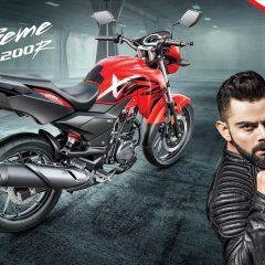 Virat Kohli to Endorse Hero Xtreme 200R Motorcycle