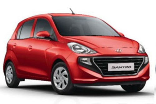 New 2018 Hyundai Santro Red Color New Santro Fiery Red 2018 Model