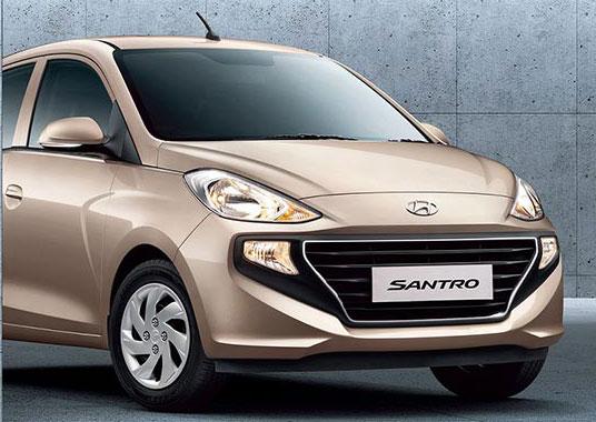 New Santro 2018 Beige Color - 2018 Hyundai Santro Imperial Beige Color