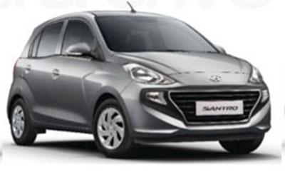 New Hyundai Santro Star Dust Color. New Santro 2018 Star Dust color