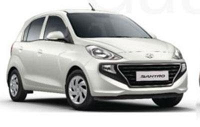 New 2018 Hyundai Santro Polar White Color - New 2018 Santro White Color Option