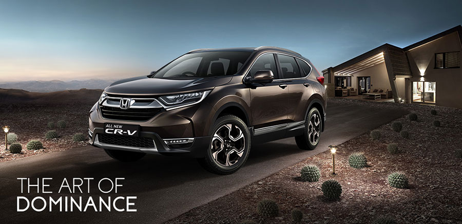New Honda CR-V 5th Generation Launched
