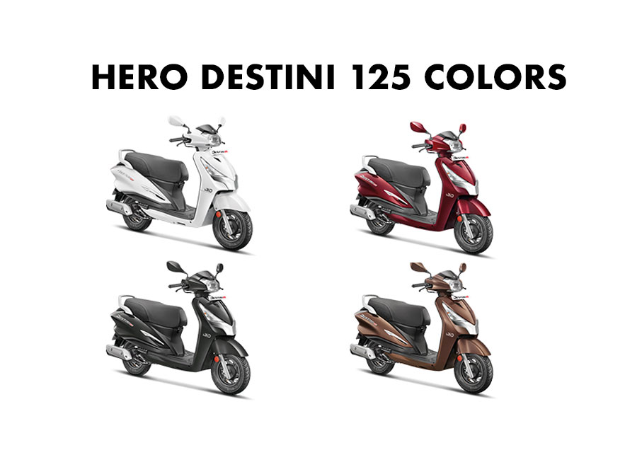 Hero Destini Colors - Hero Destini 125 All Color - Hero Destini 125 Colors All
