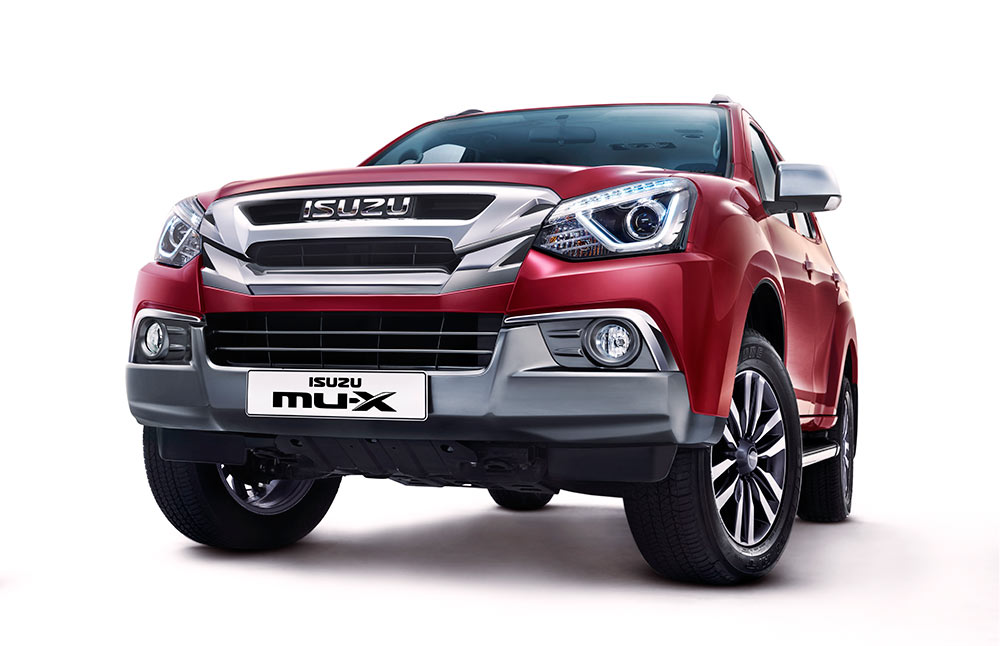 Updated ISUZU MuX model 2018
