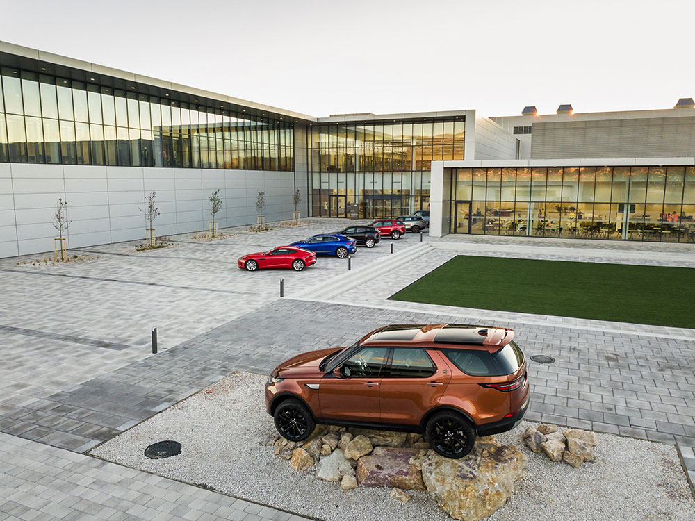 JLR Plant in Europe
