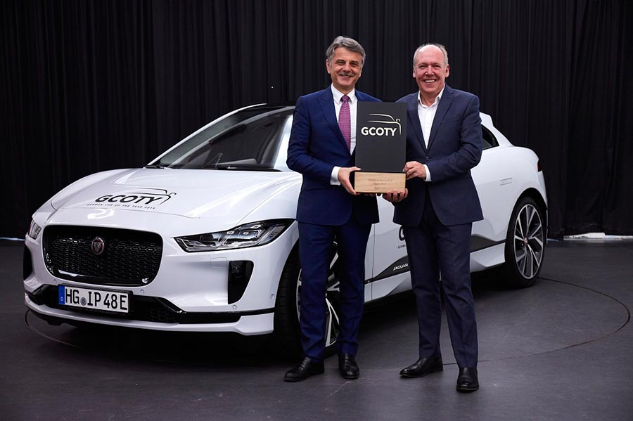 Jaguar I PACE Electric Car - 2019 Car of the year Germany