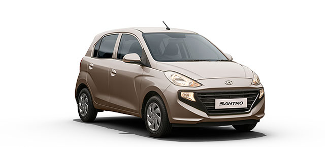 New Hyundai Santro Beige Color Imperial Beige Color