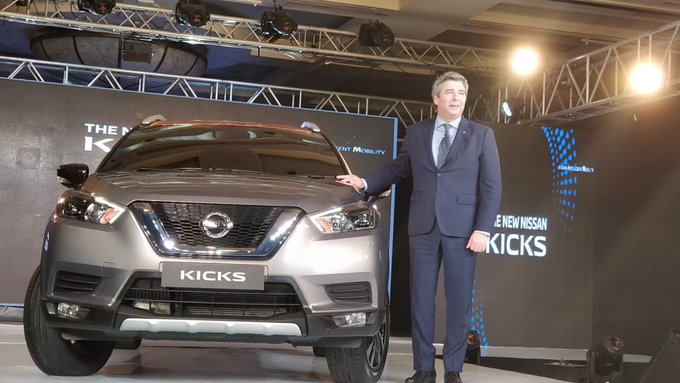 Nissan Kicks Announced in India