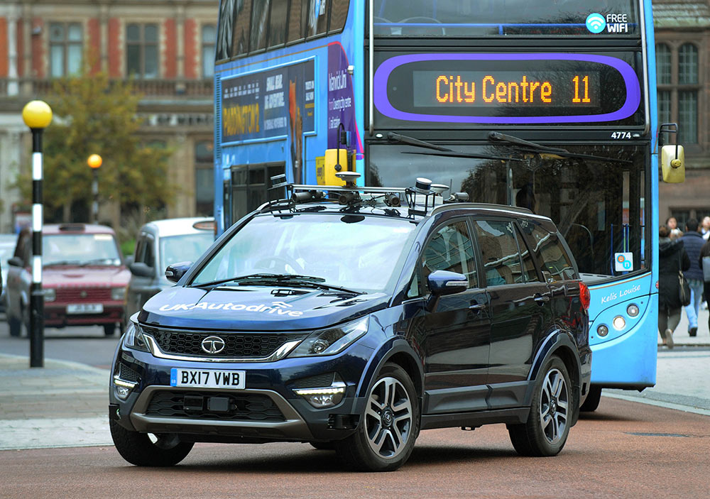 Tata Hexa Autonomous UK Centre