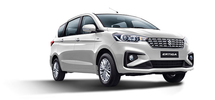 2019 Maruti Ertiga Arctic White Color