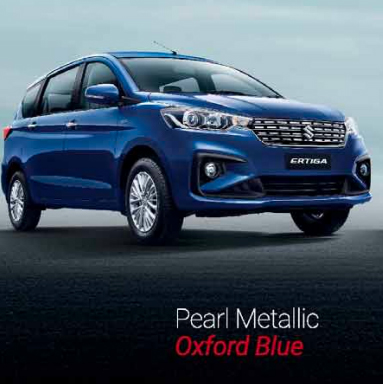 2019 Maruti Ertiga Blue Color - 2019 Maruti Ertiga Oxford Blue Color Option