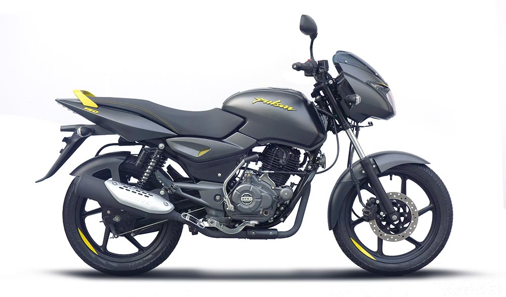 Bajaj Pulsar 150 Yellow Color - New Bajaj Pulsar Neon Yellow Color