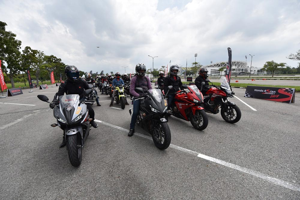 Honda 2 Wheelers - Big Bikes at Asia Journey 2018