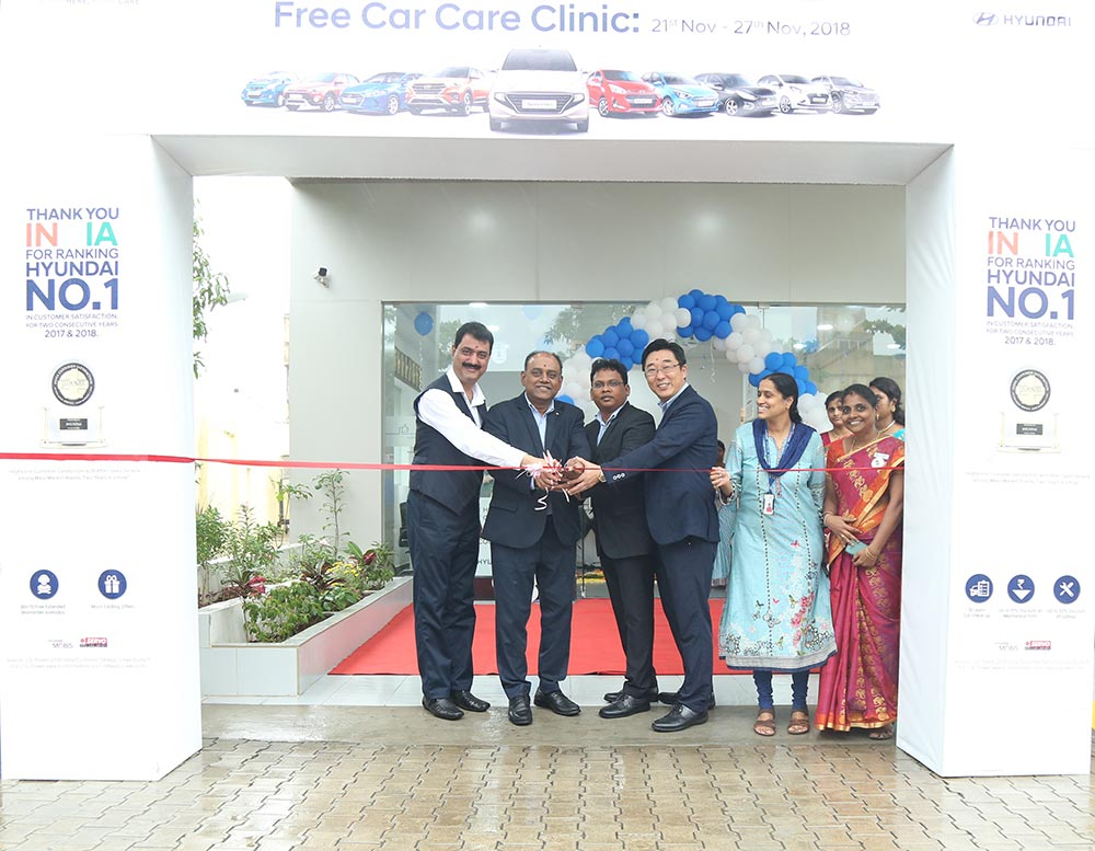 Hyundai Free Car Care Clinic 2018 Edition