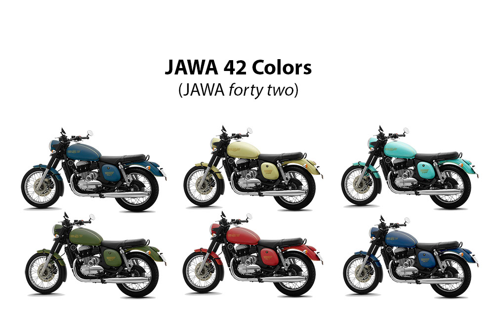 JAWA 42 Colors - jawa42 colors - jawa 42 all colors