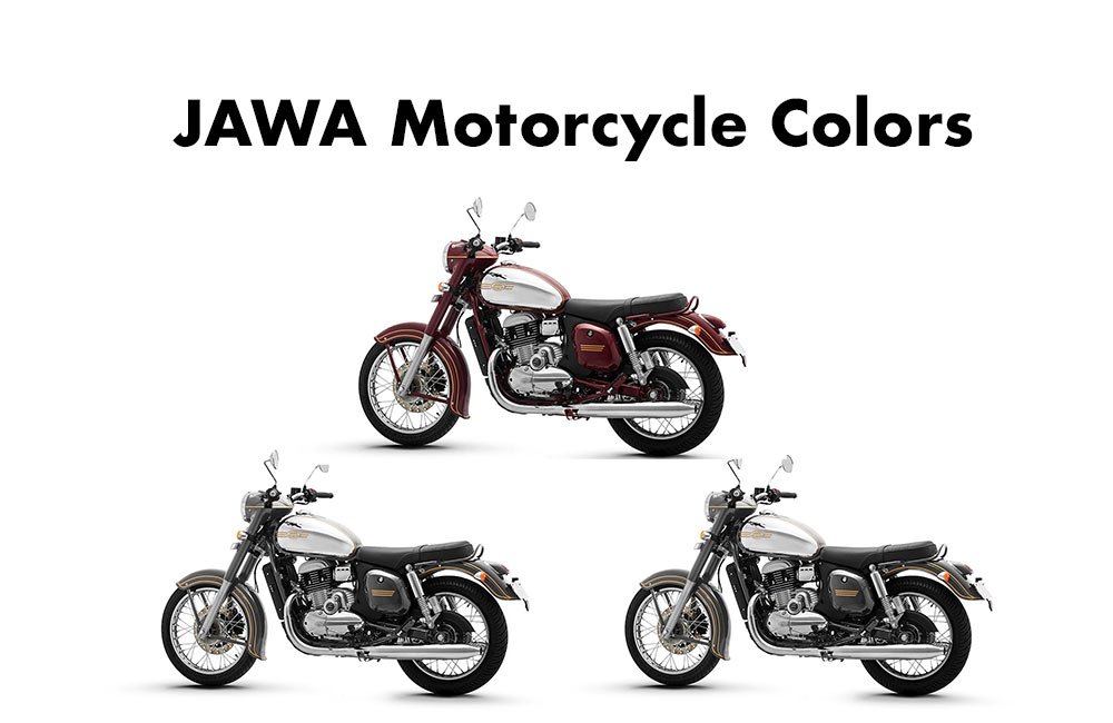 All JAWA Colors - JAWA Motorcycle Colors- JAWA Color Options