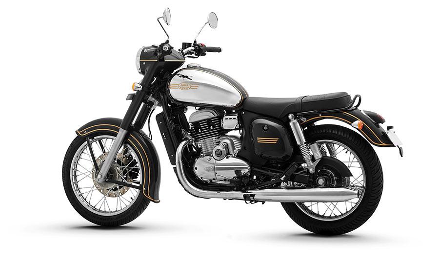 JAWA Black Color - JAWA Motorcycle Black Color option