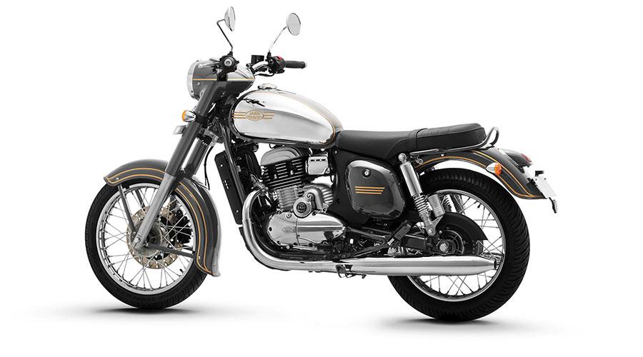JAWA Grey Color Motorcycles - JAWA in Grey Color Option
