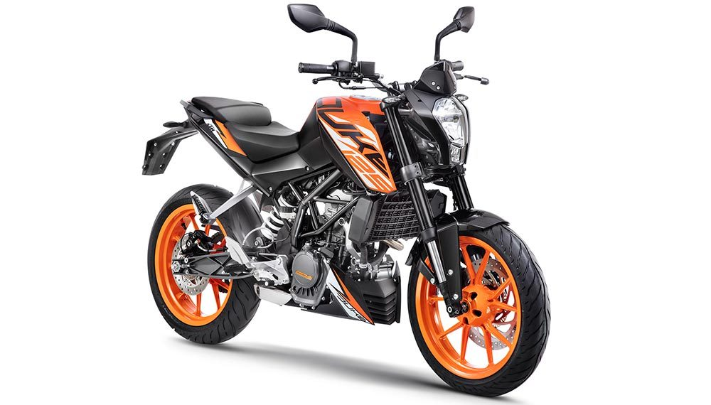 ktm duke 125 abs launched in india at rs lakhs gaadikey. Black Bedroom Furniture Sets. Home Design Ideas