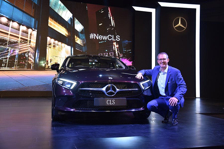 Mercedes-Benz CLS 300d Launch Photo 1