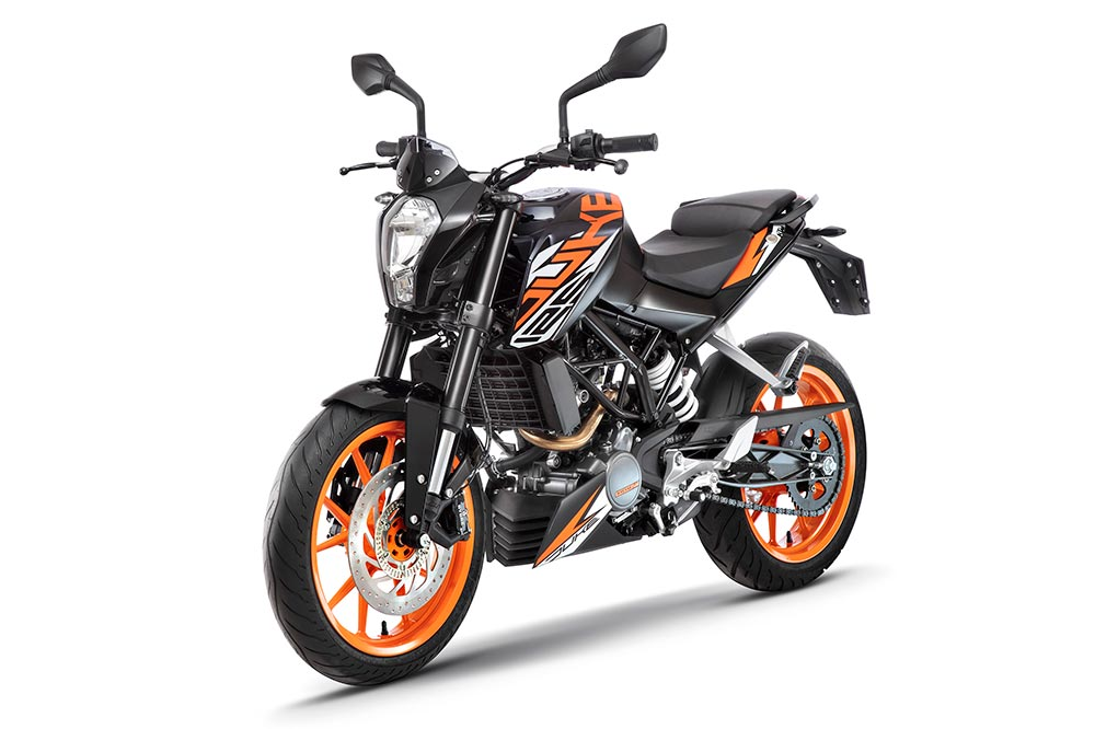 New KTM Duke 125 Black Color - New KTM 125 Duke Black Color option