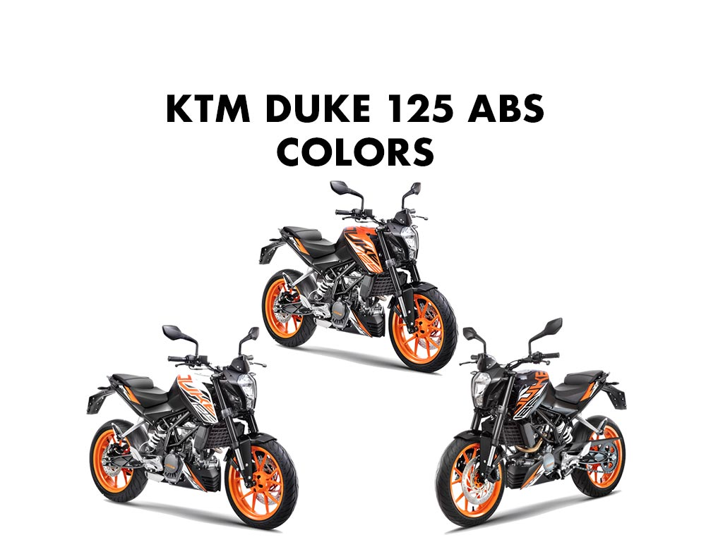 KTM Duke 125 Colors = KTM Duke 125 All Colors
