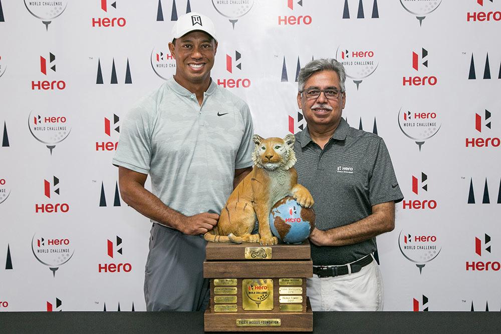 Tiger Woods Hero Motocorp