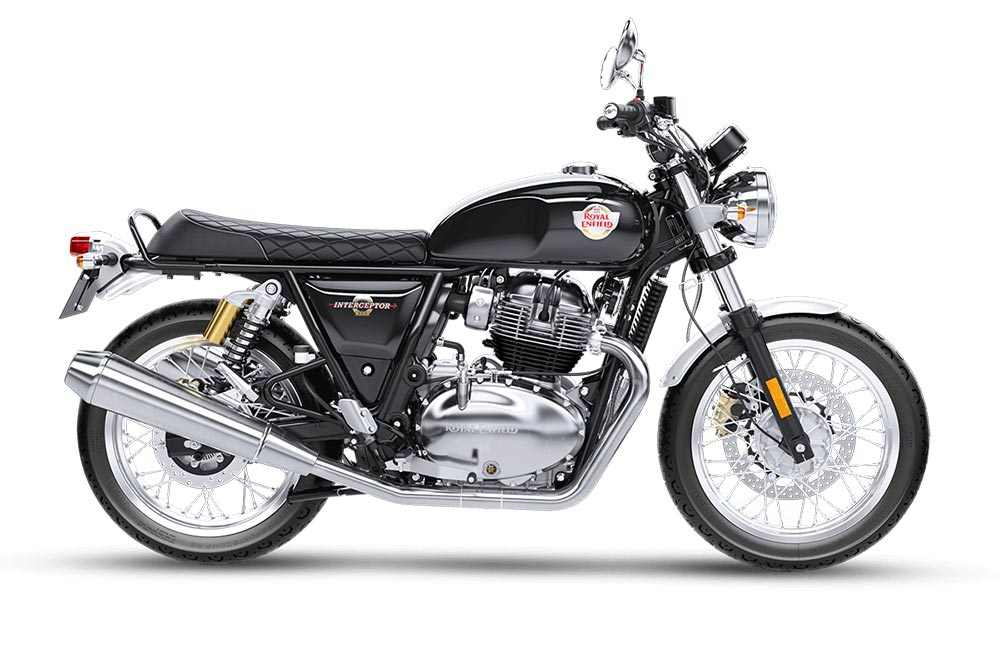 Royal Enfield Interceptor 650 Black Color - Intercepter Black Color