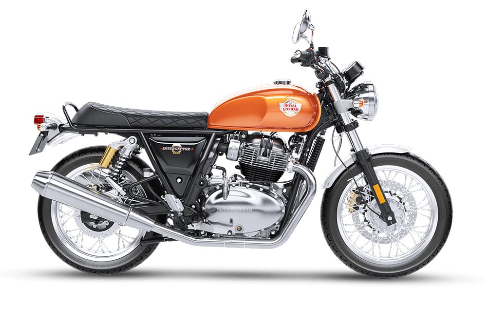 Royal Enfield Interceptor 650 Orange Color - Interceptor Orange Crush Color - Intercepter Orange Crush Color option