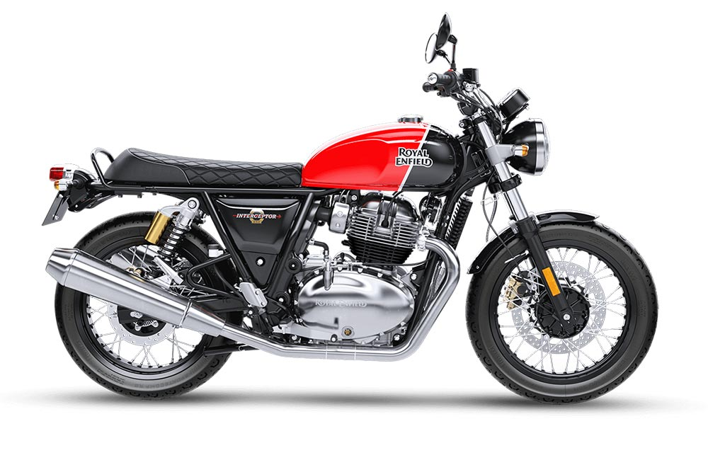 Royal Enfield Interceptor 650 Red Color Option - Ravishing Red Color Option - Intercepter Red Color Option
