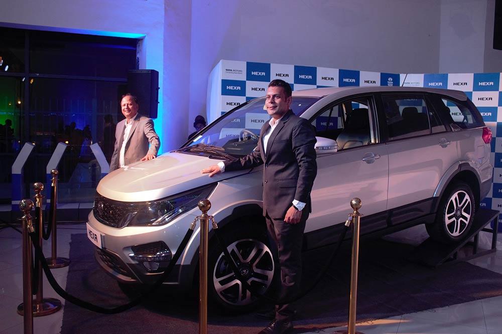 Tata Hexa Africa Launch