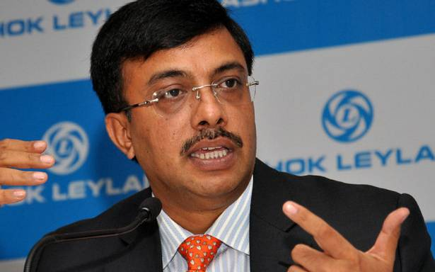 Vinod Dasari MD and CEO of Ashok Leyland
