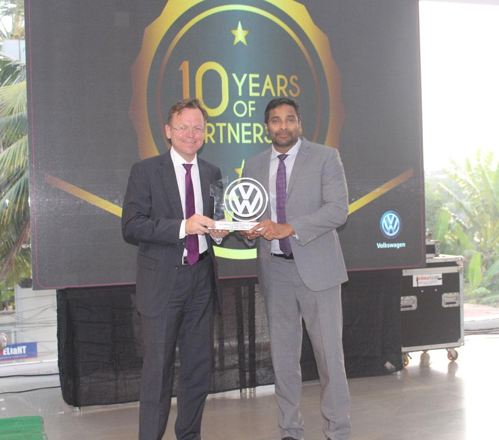 Volkswagen EVM Motors 10 year celebration