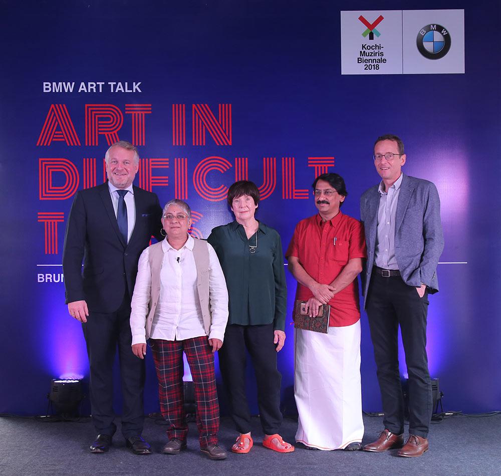 BMW Art Talk - Art in Difficult Times