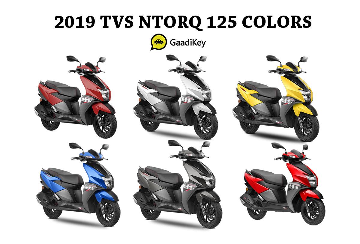2019 TVS NTORQ 125 C