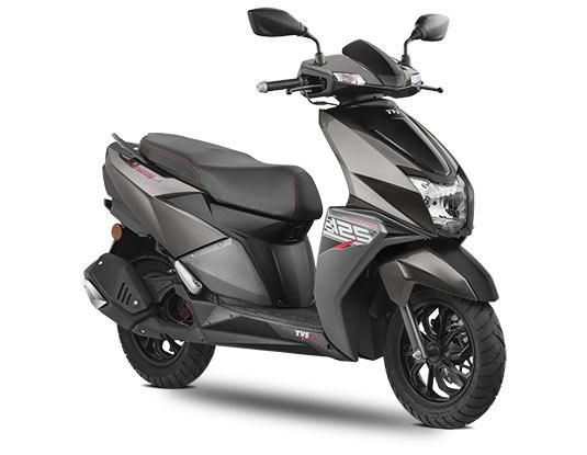2020 TVS NTORQ Grey Color. New NTORQ 125 Metallic Grey Color option 2020 model