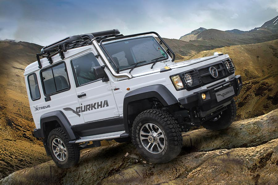 Launch of New Force Gurkha Xtreme in India