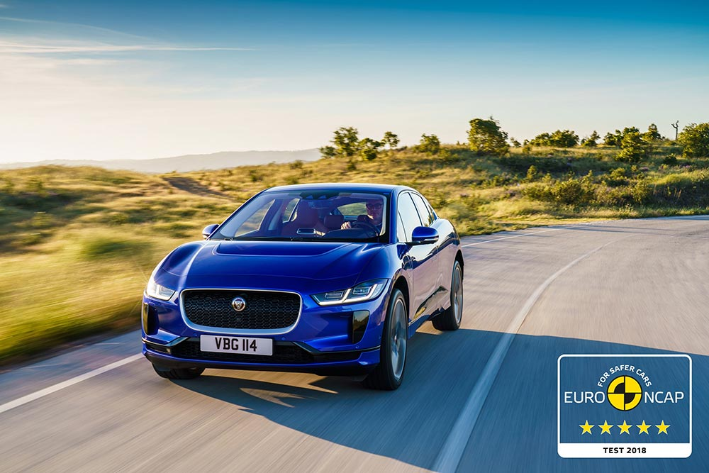 Jaguar Electric IPACE EURO NCAP