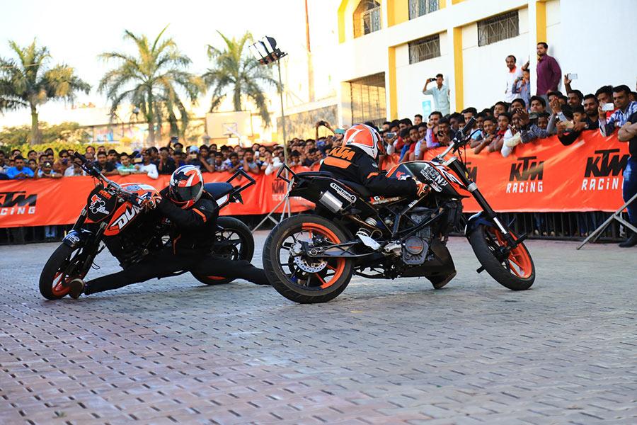 KTM Stunt Show Mumbai 29 December 2018
