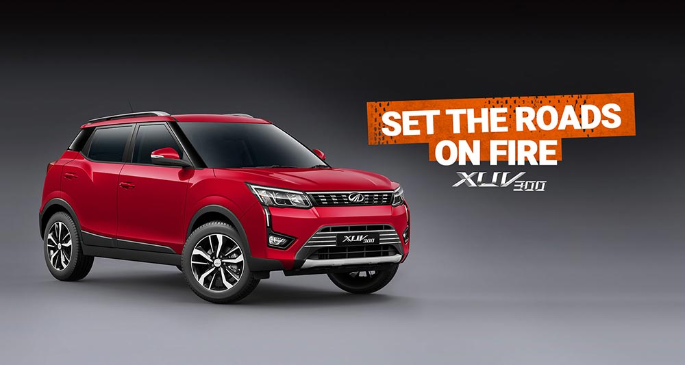 Image result for Mahindra XUV300 Car