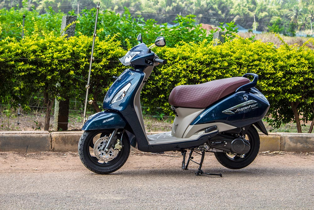 Ray Price Honda >> TVS Jupiter Grande Review: Old Wine in a New Blue Bottle - GaadiKey