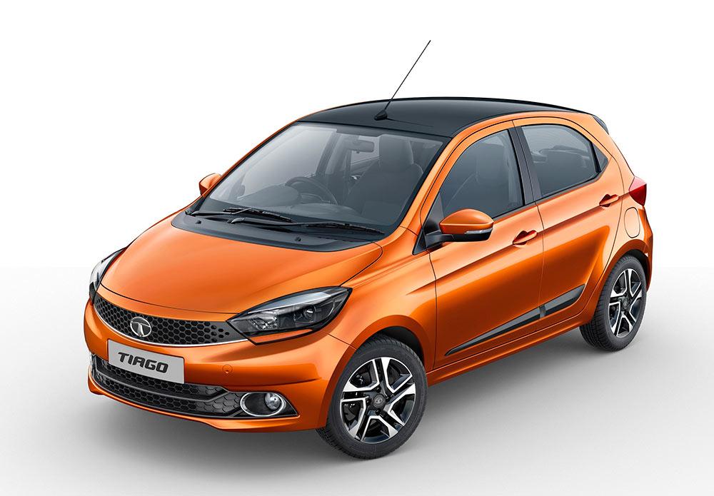 Tata Tiago XZ+ Canyon Orange New Variant