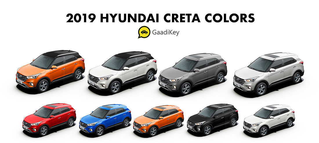 2019 Hyundai Creta Color - New 2019 Creta All Colors - 2