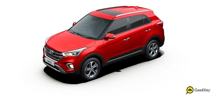 2019 Hyundai Creta Red Color - New 2019 Creta Fiery Red Color Option